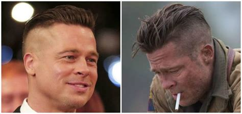 wardaddy hairstyle how to get brad pitt s fury hairstyle pompadour hair cut