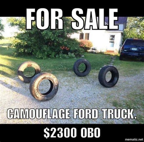 Ford Truck Jokes by For Sale Camouflage Ford Truck Meme Http Jokideo