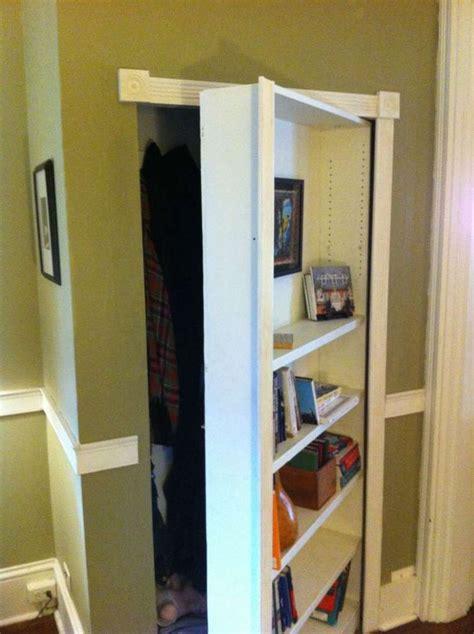 Bookcase Closet Door Best 25 Bookcase Door Ideas On Pinterest Diy Bookshelf Door Bookshelf Door And