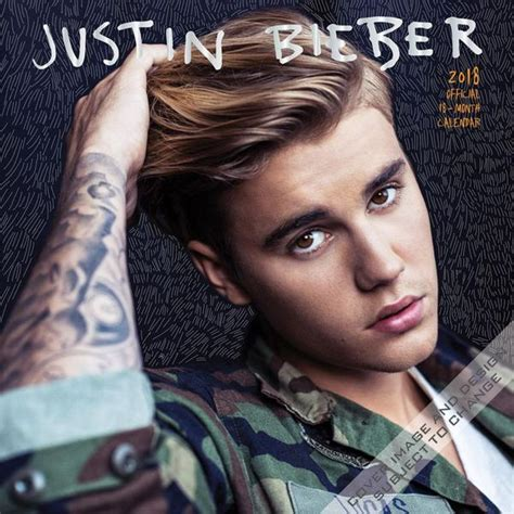How To Make Envelope by 9781465091819 Justin Bieber 2018 Wall Calendar Browntrout