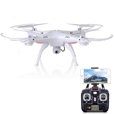 Rc Drone Syma offerte syma x5sw rc drone fpv real time transmission with hd 6 axis rc helicopter a soli