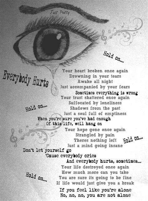 blue lyrics you always hurt blue song you always hurt 28 images you always hurt