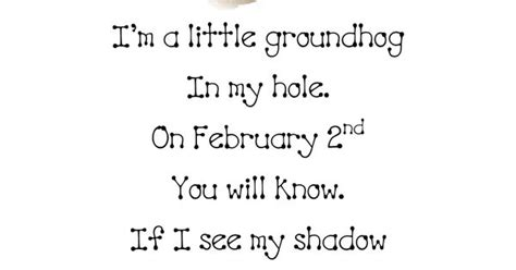 groundhog day poetry groundhog day groundhog day poems and learning