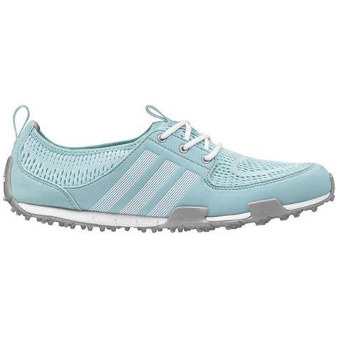 shop adidas s climacool ballerina ii clear aqua white silver golf shoes free shipping