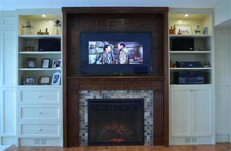 Before and After: Lakeside Fireplace Wall   Stylish Fireplaces