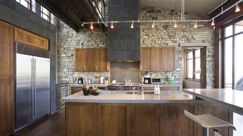 stone kitchen design 15 stone walled kitchen designs home design lover