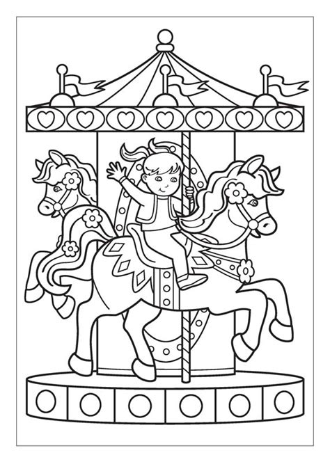 arts and crafts activities for kids coloring page carousel