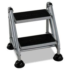 Cosco Rolling Commercial Step Stool by Step Stools Folding Step Stools Ontimesupplies