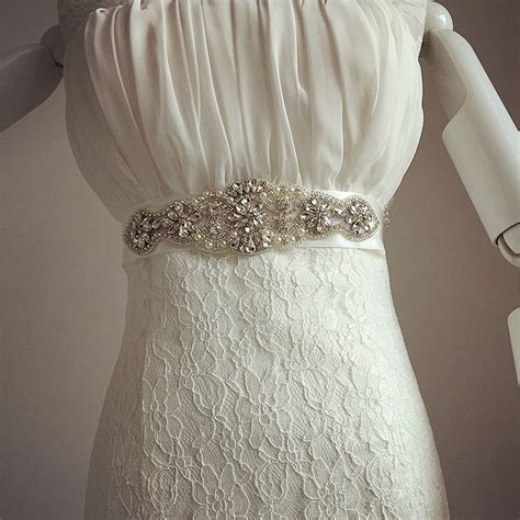 new arrival handmade wedding belt rhinestone