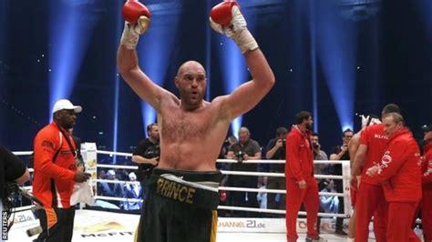 juara dunia tinju kelas berat 2015 tyson fury juara dunia kelas berat kalahkan klitschko