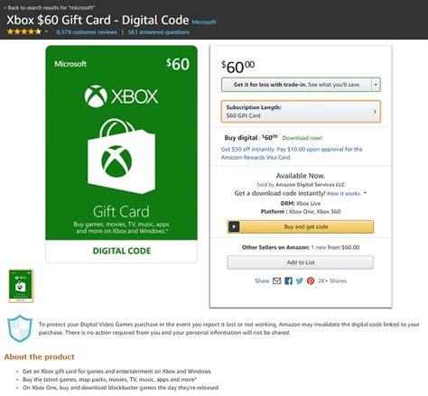 Pay Aws With Amazon Gift Card - 米国amazonでxbox gift cardを購入する手順 マゴトログ