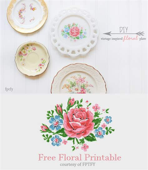 12 Floral Inspired Things To Own by Shabby Blogs Vintage Freebie With Keren Pretty Fb
