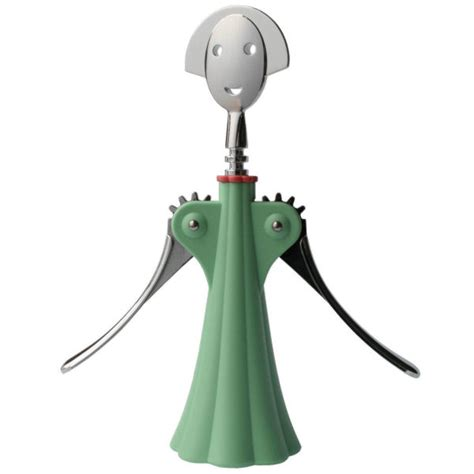 Kitchen Knives Uk Alessi Corkscrew Anna G By Alessandro Mendini Green