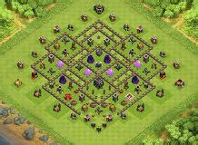 ultimate th9 layout th9 base layouts top 1000 clash of clans tools 9 to 16