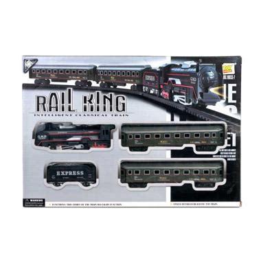 Mainan Kreta Api Kereta Api Choochoo jual pusat mainan anak 19033 7 kereta api rail king set mainan anak harga kualitas