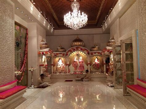 interior design mandir home pooja room at antilles mukesh ambani s home pooja