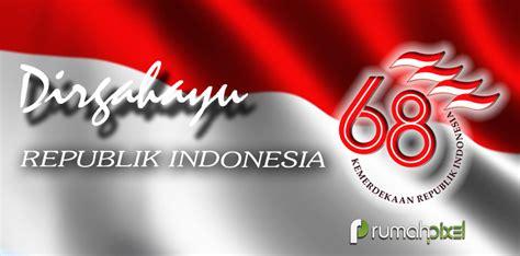 Kaos I Indonesia Putih Garuda Dirgahayu Hut Ri 71 17 An 2 dirgahayu hut kemerdekaan republik indonesia ke 68 1945
