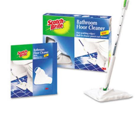 3m scotch brite bathroom floor cleaner mmm8003sk4