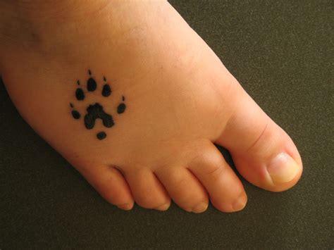 cool bear paw tattoo desiznworld
