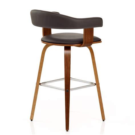 chaise de bar bois chaise de bar faux cuir bois ontario monde du tabouret
