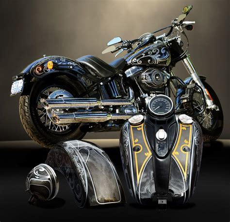 Custom Paint Harley Davidson Motorcycles by 271 Best Images About Hd On Custom Bobber