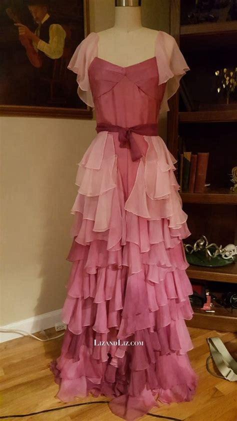 hermione granger pink prom celebrity dress yule ball