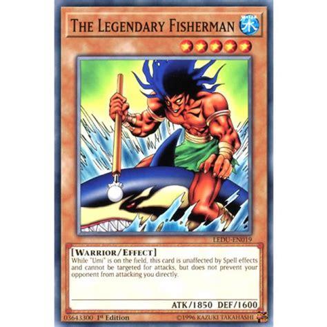 Yugioh Legendary Duelists Booster Ledu En the legendary fisherman ledu en019 1st edition yu gi oh card