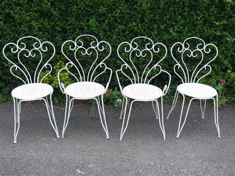 Metal Garden Furniture The And Elegance Of Wrought Iron Garden Furniture