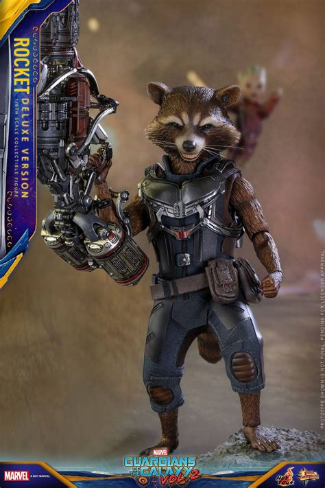 Toys Cosbaby Rocket Raccoon Guardians Of The Galaxy Vol 2 toys mms411 guardians of the galaxy vol 2 rocket raccoon d marvelous toys