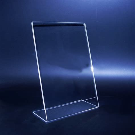 a4 menu holder acrylc sign holder single sided menu