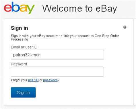 ebay login ebay uk login