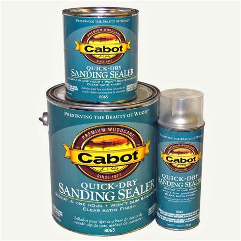 cabot quick dry sanding sealer  series capitol