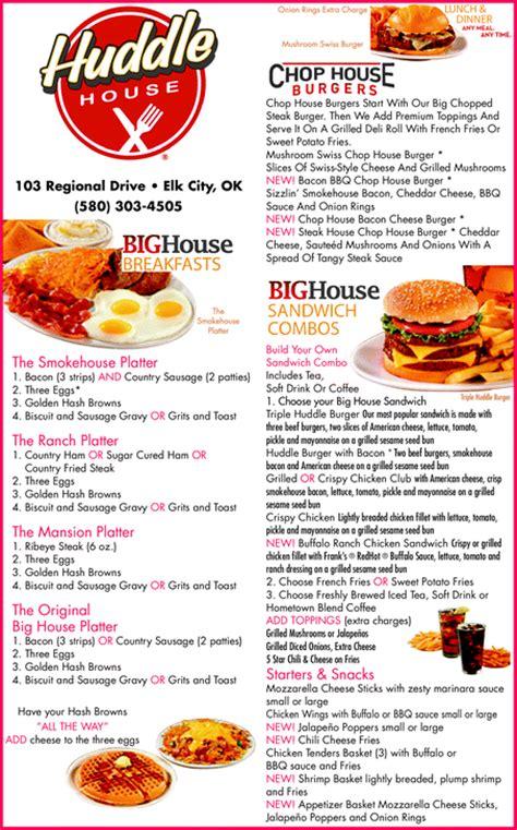 Huddle House Coupons by Huddle House Elk City Ok 73644 Yellowbook