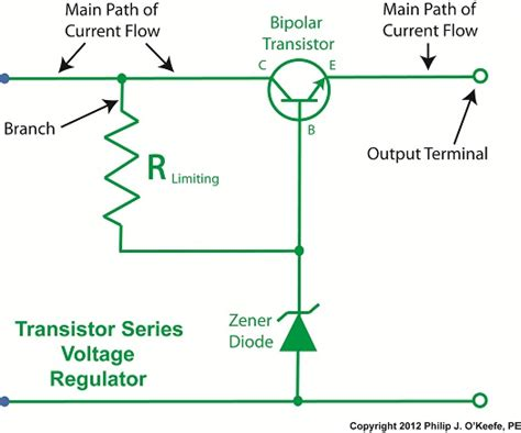 circuit diagram for zener diode as voltage regulator transistors voltage regulation part xvi tank engineering and management consultants inc