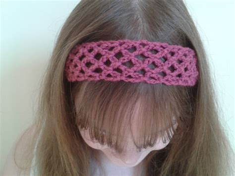 bits bobbles easy crochet lace headband pattern bits bobbles easy crochet lace headband pattern