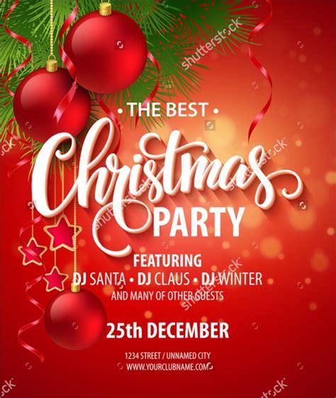 Holiday Party Invites Templates Free