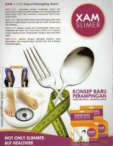 Xamslimer Pelangsing obat pelangsing yang aman ekstrak jus kulit manggis