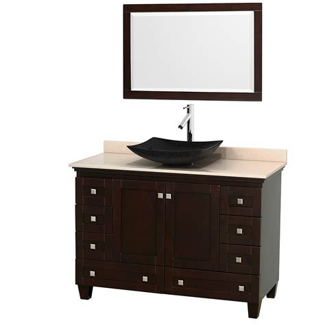 ivory bathroom vanity wyndham collection wcv800048sesivgs4m24 acclaim 48 inch