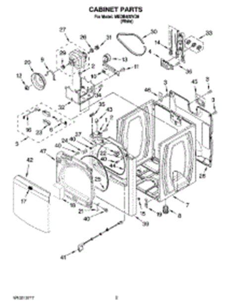 maytag bravos dryer parts diagram parts for maytag medb400vq0 dryer appliancepartspros