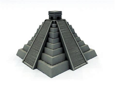 What Is The Interior Of Mesoamerica Like Mayan Pyramid 3d Printable Model Cgtrader