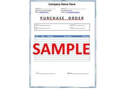 Purchase Order Letter Definition how to write purchase order acceptance letter stepbystep