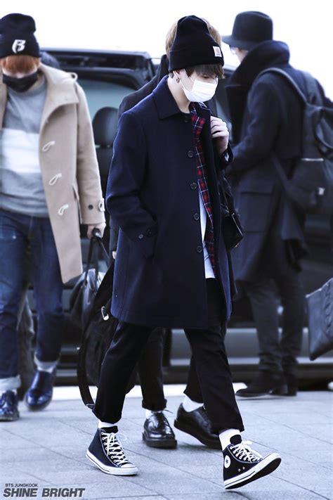 22 best images about bts jungkook airport fashion on