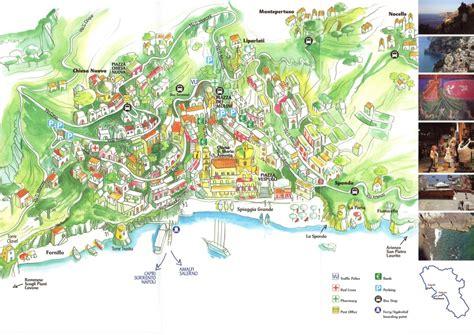 positano italy map positano italy mapamalfi coast tours