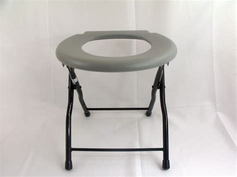 Foldable Toilet Chair by Folding Commode Toilet Chair Steel Portable Cing Seat