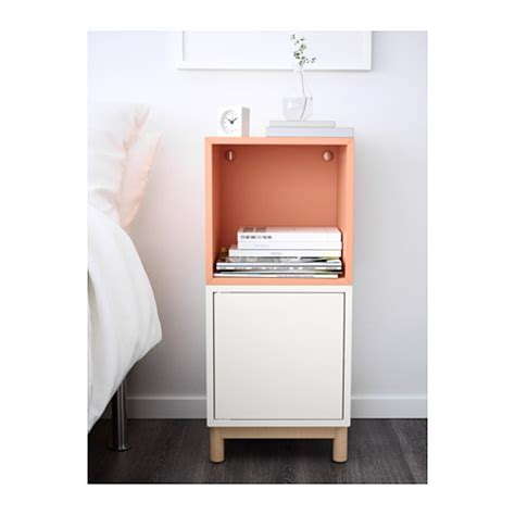 eket ikea hack eket cabinet combination with legs white light orange