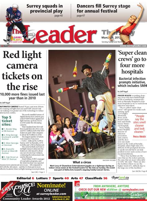 Penangkal Petir Leader 3 Delta Technology surrey delta leader march 29 2012 by black press issuu