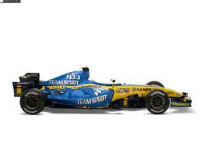 Renault F1 Cars Chion Machine In 2006 Racing Paper Models