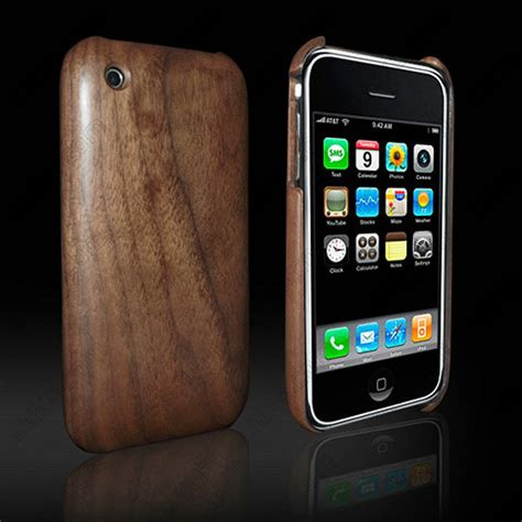 Casing Hp Iphone 3gs iphone wood cell phone