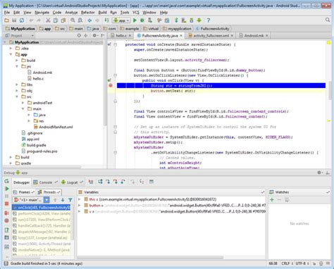 debugging android co debugging jni with android studio and visual studio visualgdb tutorials