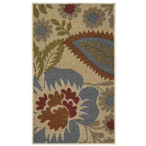 mohawk floral rug mohawk home crewel floral spice 1 5 ft x 2 5 ft area rug 002167 the home depot